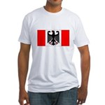 German Canadian Fitted T-Shirt