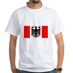 German Canadian White T-Shirt