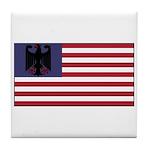 German American Tile Coaster