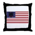 German American Throw Pillow
