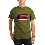 German American Organic Men's T-Shirt (dark)