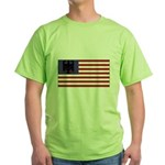 German American Green T-Shirt