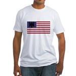 German American Fitted T-Shirt