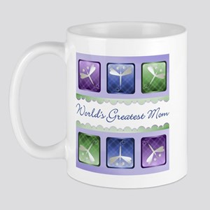 World's Greatest Mom (dragonfly) Mug