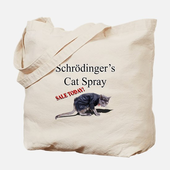 Schrodingers Cat Spray Tote Bag