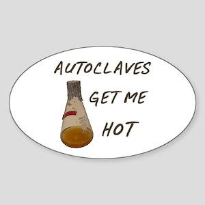 Autoclave Sticker (Oval)