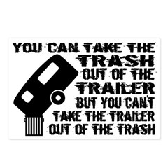 Trailer From Trash Postcards (Package of 8)