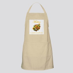 Mother is another word for love (yellow) BBQ Apron