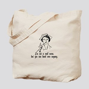 Not A Real Nurse Tote Bag