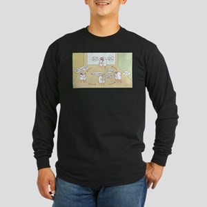 Distraction Long Sleeve Dark T-Shirt