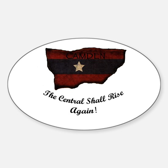 the Central Shall Rise Again Sticker (Oval)