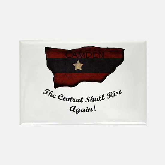 the Central Shall Rise Again Rectangle Magnet