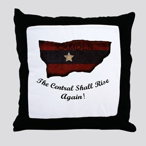 the Central Shall Rise Again Throw Pillow