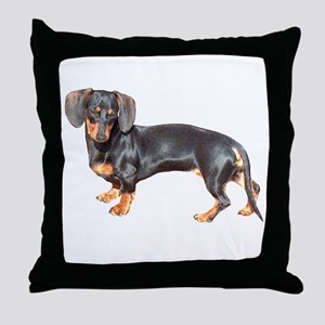 Lily Baby Dachshund Dog Throw Pillow