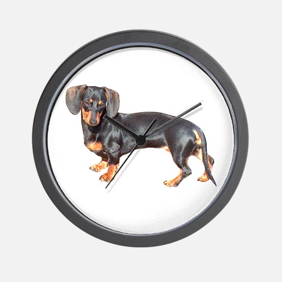 Lily Baby Dachshund Dog Wall Clock