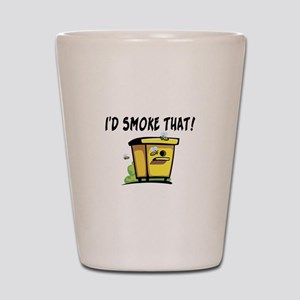 I'd Smoke That Bee Hive Shot Glass