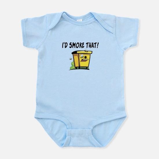I'd Smoke That Bee Hive Infant Bodysuit