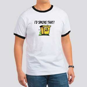 I'd Smoke That Bee Hive Ringer T
