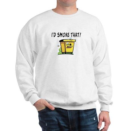 I'd Smoke That Bee Hive Sweatshirt