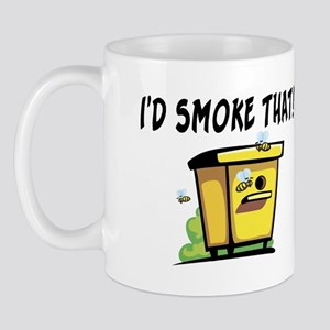 I'd Smoke That Bee Hive Mug