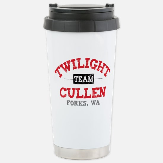 Team Cullen Stainless Steel Travel Mug