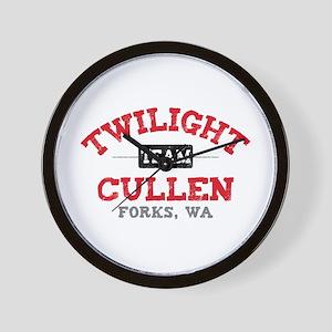 Team Cullen Wall Clock