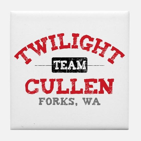Team Cullen Tile Coaster