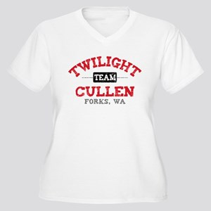 Team Cullen Women's Plus Size V-Neck T-Shirt
