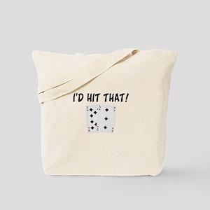 I'd Hit That Blackjack Tote Bag