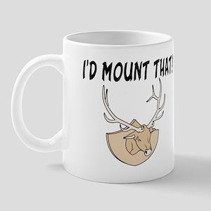 I'd Mount That Head Mug