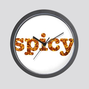 I Love it Spicy Wall Clock