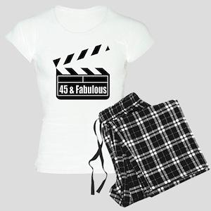 HAPPY 45TH BIRTHDAY Women's Light Pajamas