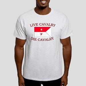 4th Squadron 7th Cavalry Light T-Shirt