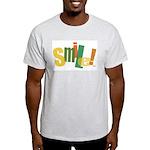 SMILE! Ash Grey T-Shirt