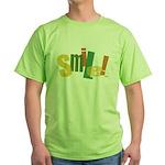 SMILE! Green T-Shirt