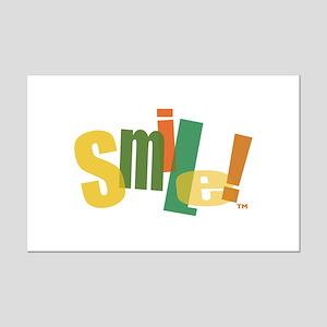 SMILE! Mini Poster Print