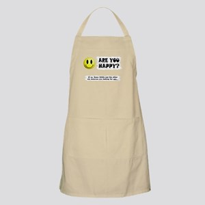 Happy? Apron