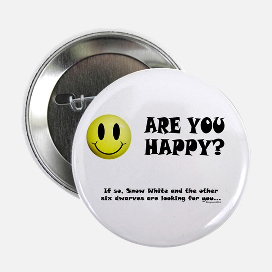 """Happy? 2.25"""" Button (10 pack)"""