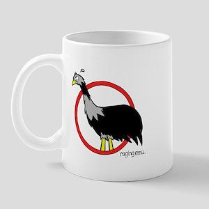 raging emu Mug