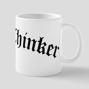 Free Thinker (Old Style) Mug