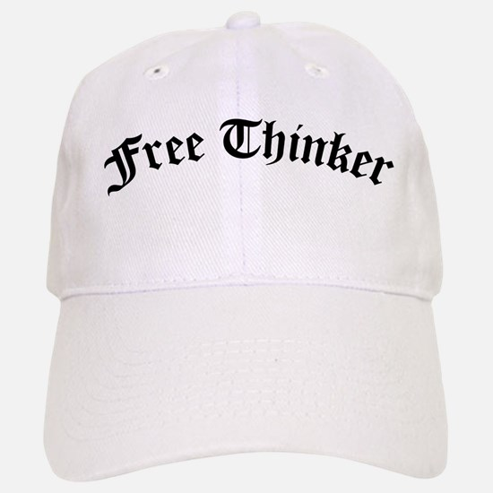 Free Thinker (Old Style) Baseball Baseball Cap