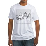 Pie Rats (no text) Fitted T-Shirt