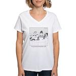 Pie Rats Women's V-Neck T-Shirt