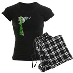 """Terrible"" Tim Women's Dark Pajamas"