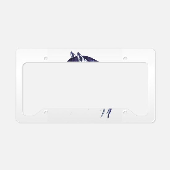 Unique Ross License Plate Holder