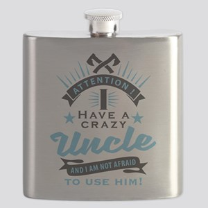 Attention i have a crazy uncle Flask