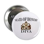 DIVA Maid of Honor Button