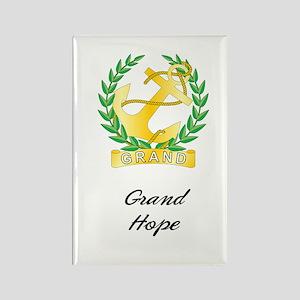 Grand Hope Rectangle Magnet