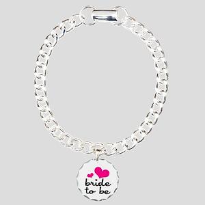 Bride To Be Charm Bracelet, One Charm
