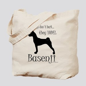 Real Dogs Don't Bark - Silhou Tote Bag
